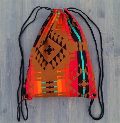 Handmade Drawstring Bags - handmade drawstring backpack