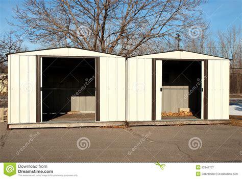 Sheds A Lot by Backyard Sheds Stock Photo Image 52845707