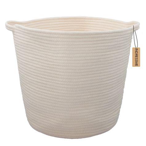 Amazon Com Orino Cotton Rope Storage Baskets With Baby Laundry