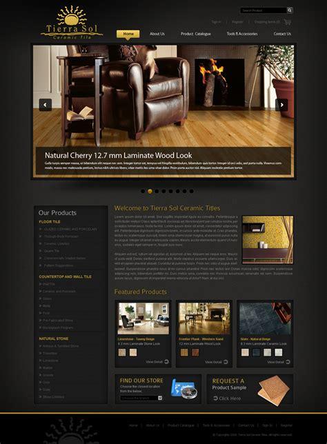 web page design contests 187 tierra sol ceramic tile web tierra sol ceramic tile web site hiretheworld