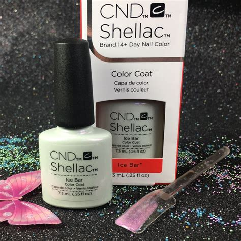 shellac bar top cnd shellac ice bar gel color glacial illusion l gel nails com