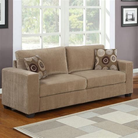 Corduroy Living Room Set Homelegance Paramus 2 Living Room Set In Neutral Tone Corduroy Beyond Stores