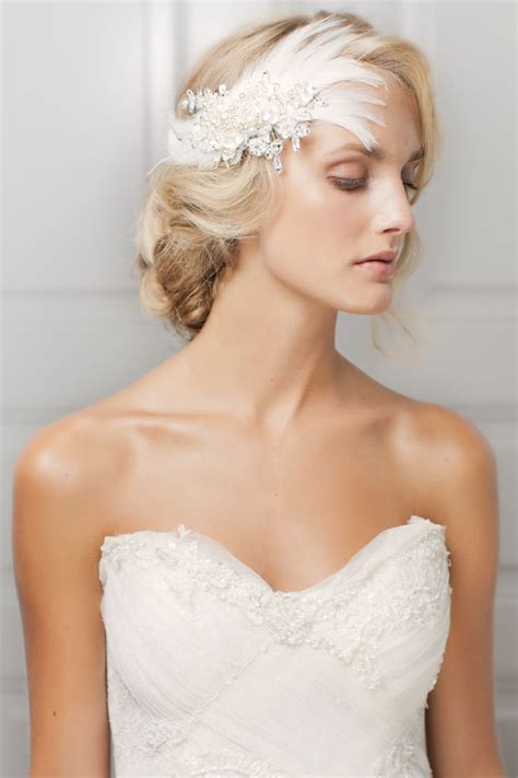 Wedding Hair Pieces by Jannie Baltzer 2013 Bridal Hair Pieces And Accessories