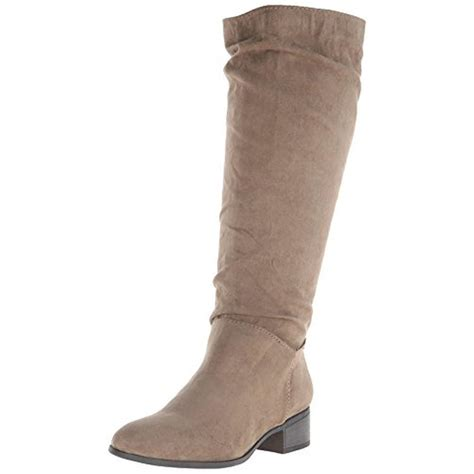 madden 4814 womens persiss faux suede knee high