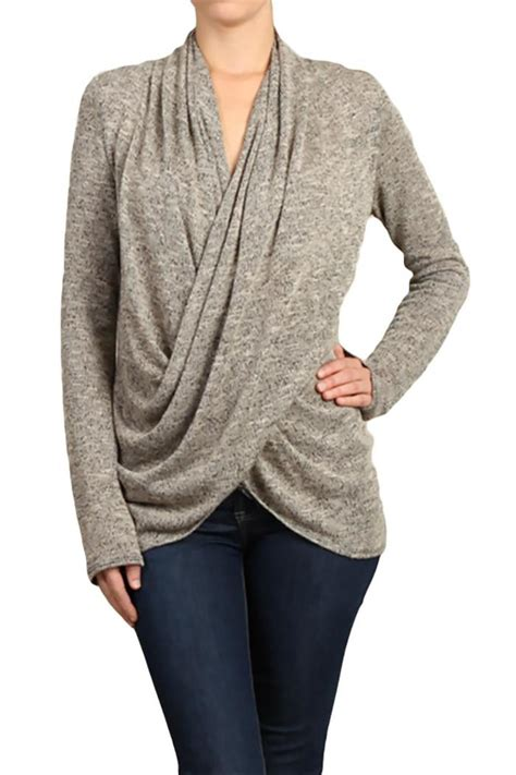 drape sweater chatoyant cross drape sweater from michigan by sparrow