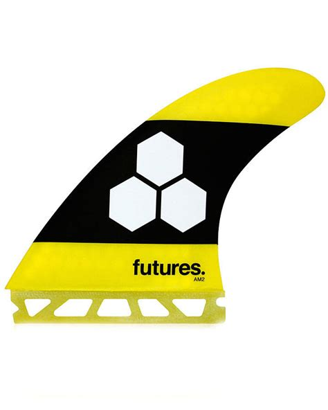 Future L by Buy The Al Merrick Am2 Yellow Thruster Futures Fins