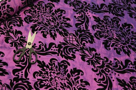 flock upholstery victoria floral taffeta damask velvet flock upholstery