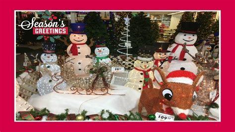 menards christmas horse outside decor decor shopping at menards pt 2 2017