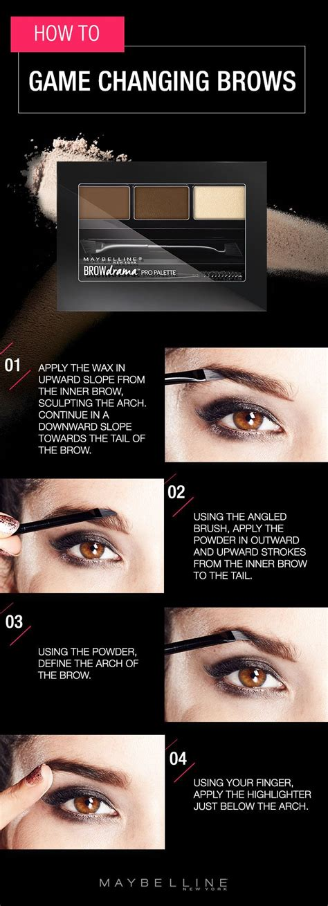 Maybelline Quot Brow Drama 25 best ideas about how to fill eyebrows on