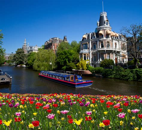 In Amsterdam by Vibrant Amsterdam Netherlands World For Travel