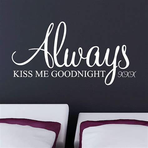 always me goodnight wall stickers by parkins interiors notonthehighstreet