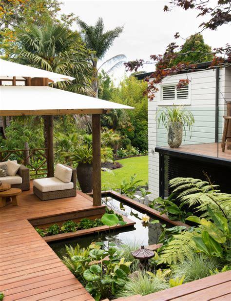 bali backyards a lush balinese style garden hidden in an auckland backyard