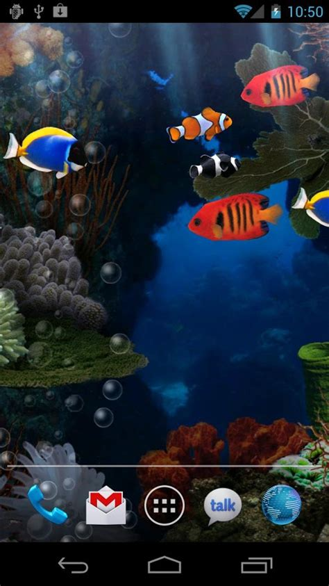 free live wallpapers for android top 7 free aquarium live wallpapers for android