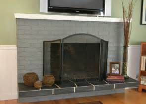 pictures of painted fireplaces brick fireplace hearth ideas gray painted brick