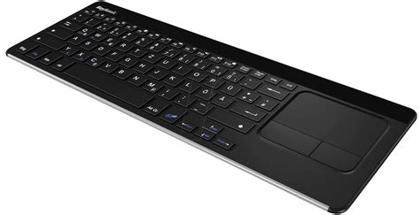 Keyboard Elektronik keysonic 22111 keyboard bluetooth black at reichelt