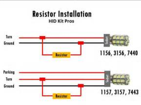 led hid load resistor hyper flash fix