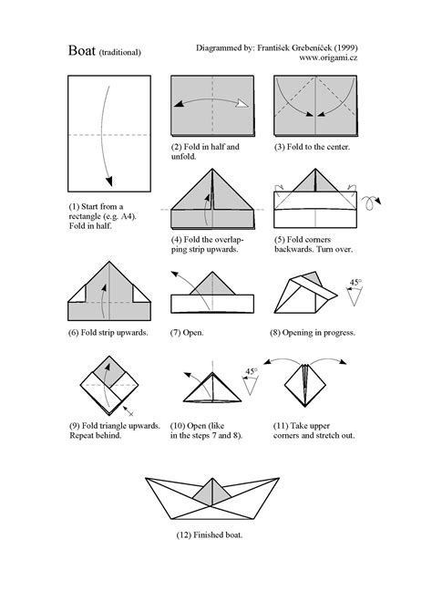 origami boat folding pin by nick toth on teaching origami origami boat