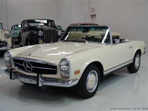 1969 mercedes 280sl 1969 mercedes 280sl roadster daniel company