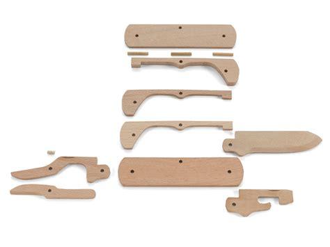 auto knife kits crkt wooden folding knife kit 3 wood blade wood handle