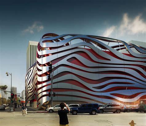 Color Interior Design petersen automotive museum unveils eye catching new