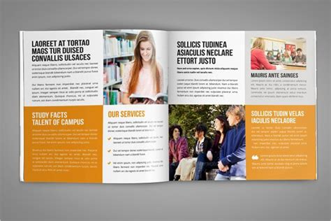 Mba Brochure Design by 40 College Brochure Templates Free Psd Pdf Word Sle