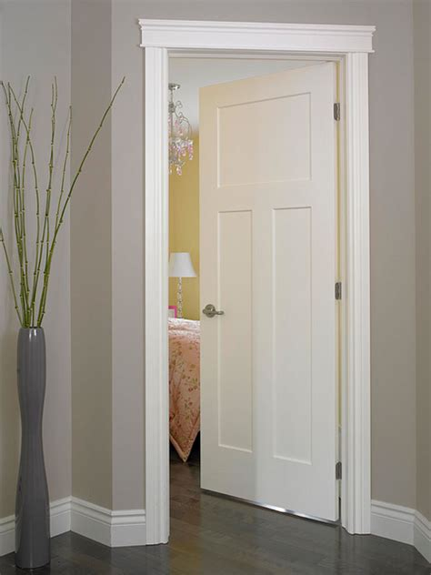 Interior Door Frame Styles by Craftsman Iii Smooth Finish Moulded Interior Door Flickr