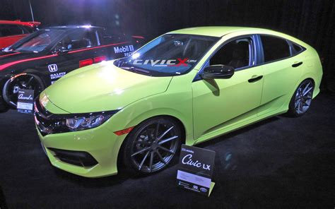 Modified Civic Sedan by Modified 2016 Civic Sedan By Galpin Auto Sports