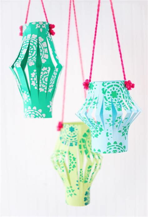 Paper Lanterns Crafts - and easy paper lanterns craft