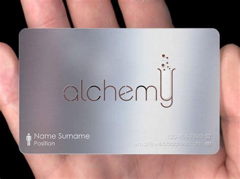 metal card metal business cards plasmadesign