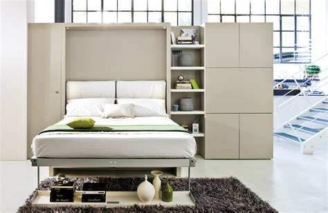 Wall Bed With Sofa Nuovoliola Free Standing Wall Bed With Sofa Clei