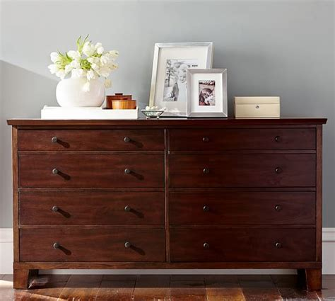 wide bedroom dressers valencia extra wide dresser pottery barn