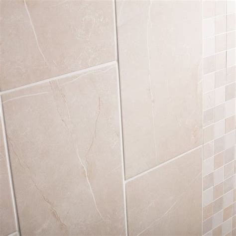 matt finish tiles bathroom 30x60cm colysse beige wall tile with a matt finish by