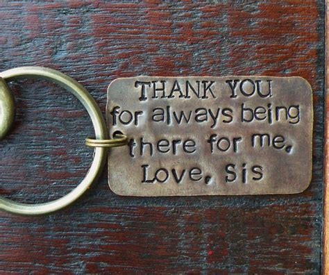 gifts for brothers key chain for gift for of the