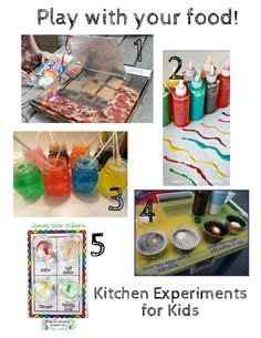 Experiments With Kitchen Items 1000 Images About Homeschool Cooking Class On