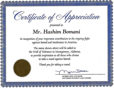 recognition of service certificate template 18 appreciation certificates wording wine albania