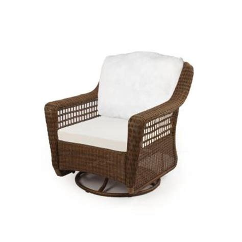 hton bay spring haven brown all weather wicker patio
