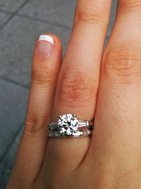 Wedding Bands With Baguettes by 15 Best Collection Of Wedding Bands With Baguettes