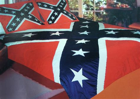 confederate rebel flag twin comforter set 68x68 quot
