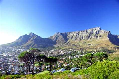 Table Mountain Cape Town by Top National Parks That Must Not Be Missed
