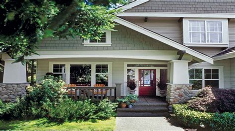 bungalow house plans with front porch cottage house