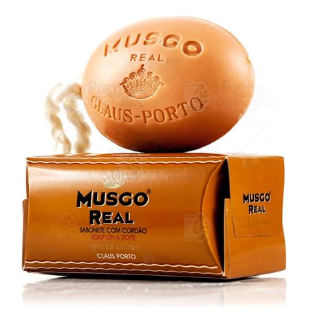 claus porto musgo real s soap on a rope spiced citrus claus