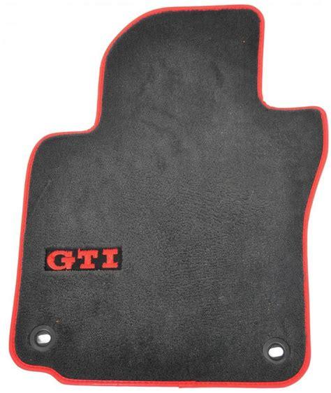 Gti Floor Mats by 2007 Factory Volkswagen Gti Floor Mats Trim