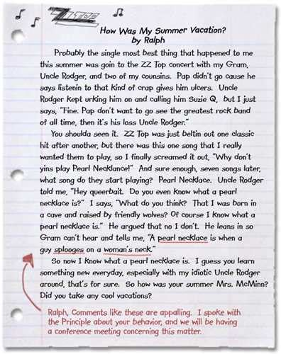 Essay About Summer by Mrs 5 Paragraph Essay About My Summer Vacation