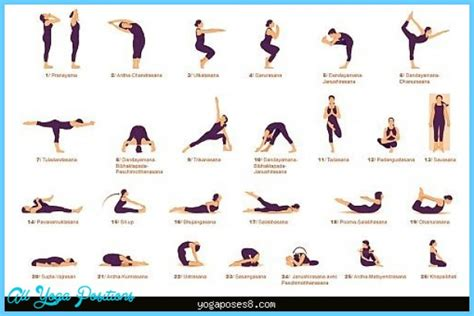 printable beginner yoga poses chart beginners yoga poses chart all yoga positions