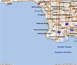 southern california map of beaches southern california map quotes
