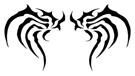 simple wing tattoos clipart best