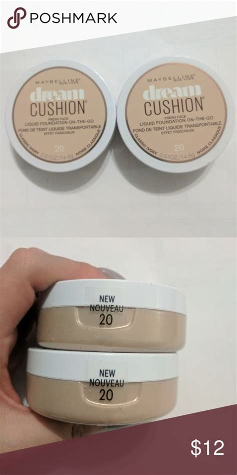 maybelline cushion 20 brand new one in classic ivory