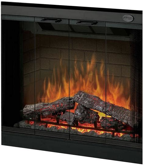 glass fireplace kits dimplex bfdoor33blksm glass door kit 33 inch built in