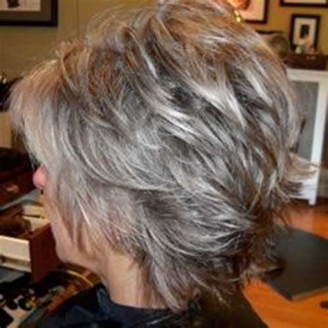 shagy short with silver highlights haistyles hairstyles for short gray hair the best short hairstyles