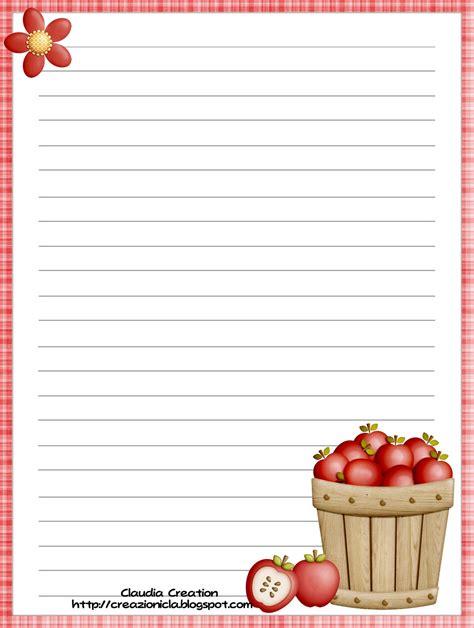 carta da lettere gratis il mio angolo creativo carta da lettere autunno